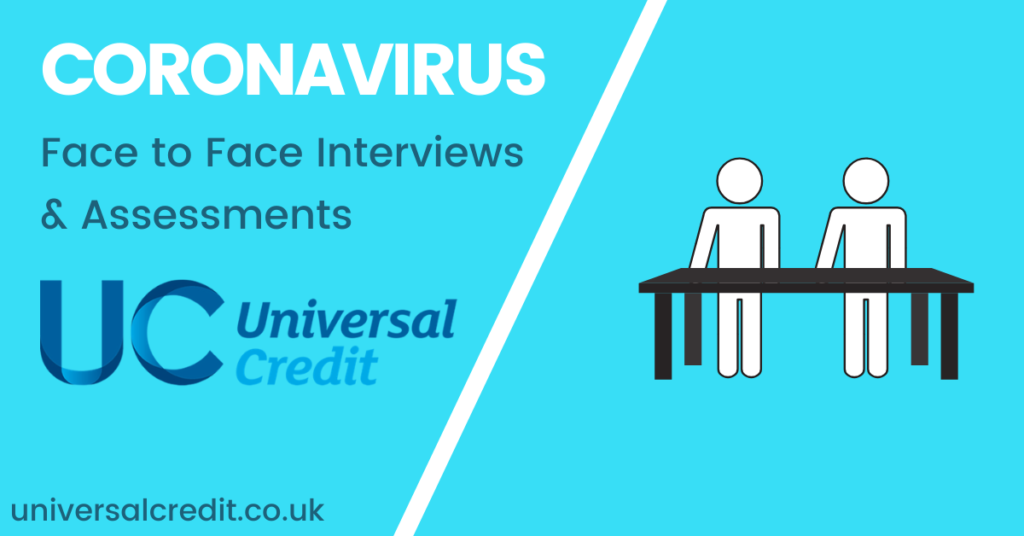 Coronavirus-universal-credit-suspends-interviews